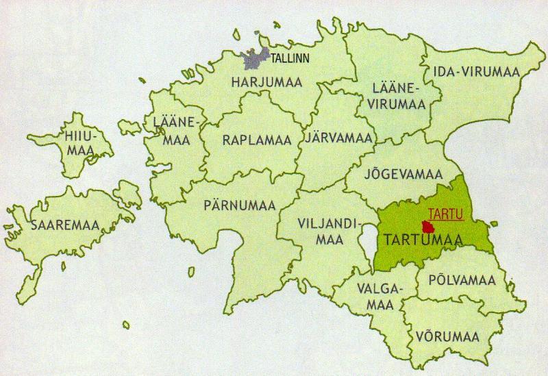 ba76c3f513b Maps - City maps, atlases - Tartu. Tartumaa