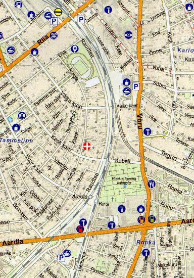 Maps City maps atlases Tartu Tartumaa