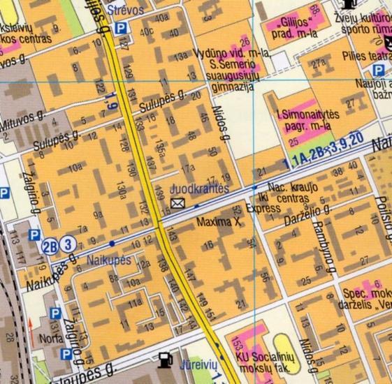 Maps City maps atlases Klaipda