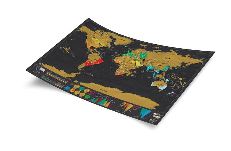 Maps wall maps scratch map deluxe travel edition gumiabroncs Gallery
