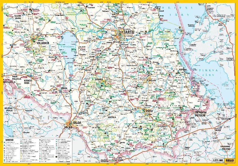 Maps Tourism maps KaguEesti