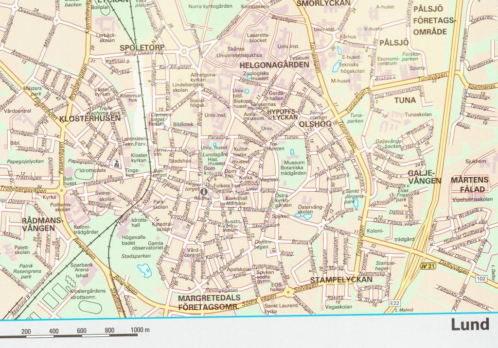 Maps Road maps atlases Sverige vgatlas