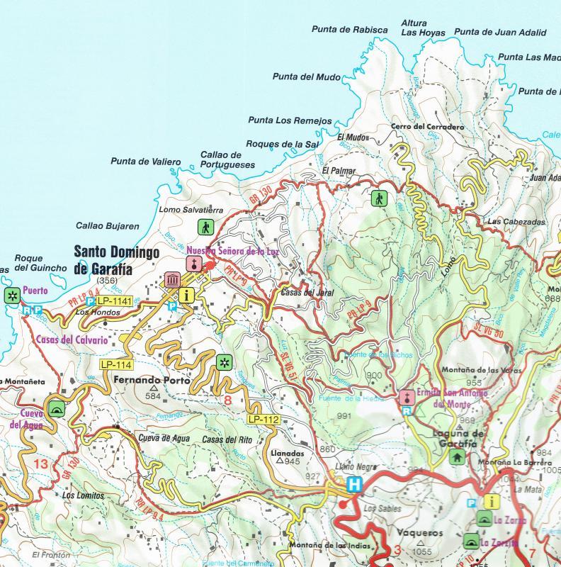 Maps Road maps atlases La Palma