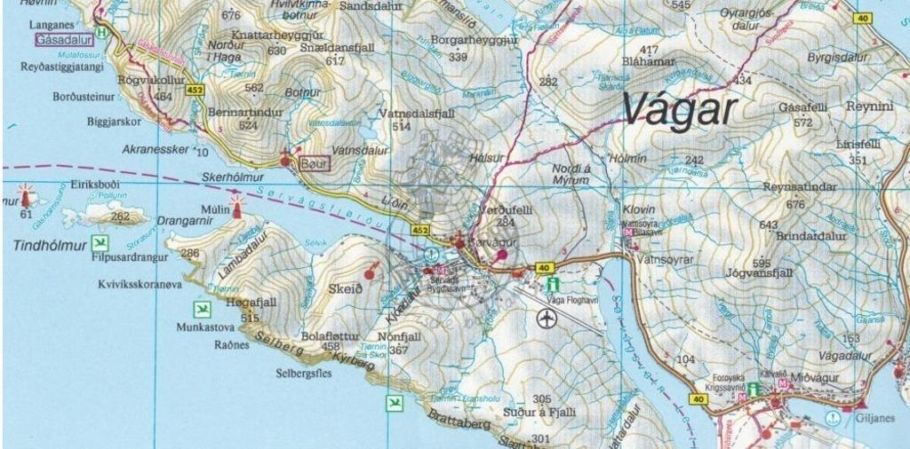 Maps - Road maps, atlases - Faroe Islands