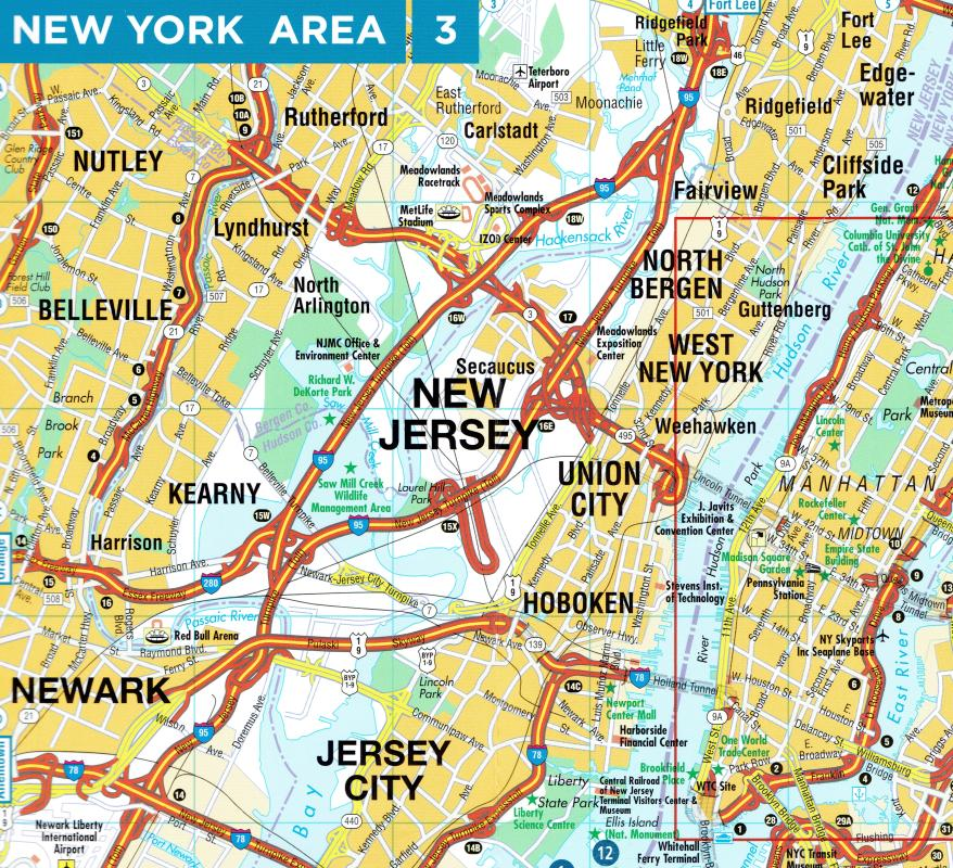 Maps - City maps, atlases - New York City