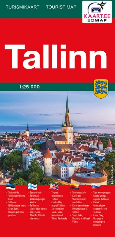 Maps City Maps Atlases Tallinn