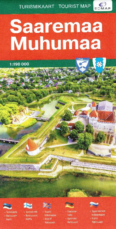 Maps Tourism Maps Saaremaa Muhumaa