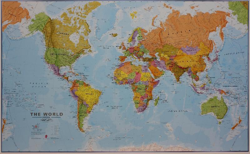 Maps - Wall maps - Huge World Map